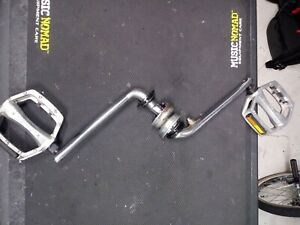 GT Dyno 175mm one piece crank old school bmx freestyle performer compe air haro