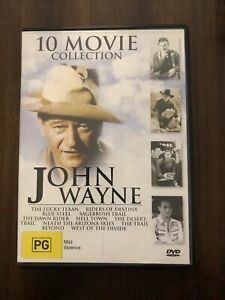 John Wayne 10 Movie Collection John Wayne 10 Movies DVD [M]