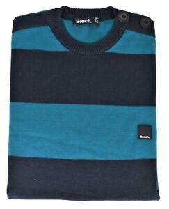 Jersey Pullover BENCH Herren Streifen Pullover Mann Lines - M
