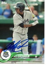 Jazz Chisholm Kane County Cougars 2018 Topps Pro Debut Signed Card