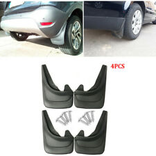 4pcs Front & Rear Car Body Protector Mud Flaps Guards Splash Molded Trim Kit