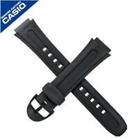 Genuine Casio Watch Strap Band for W-210 W210 W210 BLACK 10202335