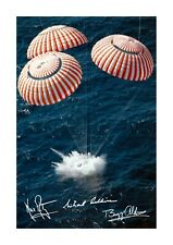 More details for apollo 11 splashdown 1969 a4 poster choice of frame