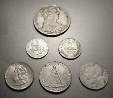6 Stück Silbermünzen aus Österreich
