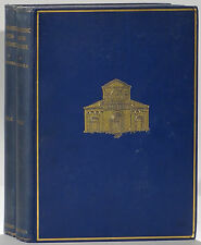 Lombardic Architecture G.T. Rivoira 1933 Oxford Clarendon edition 2-volume set