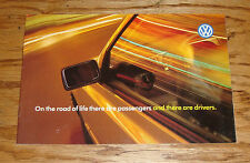 Original 1996 Volkswagen VW Full Line Sales Brochure 96 Jetta Golf Passat Cabrio