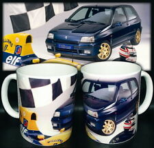 tazza mug RENAULT CLIO WILLIAMS classic sport car scodella ceramica