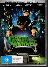 THE GREEN HORNET - DVD R4  (2011)  Seth Rogan Christoph Waltz  VG  FREE POST