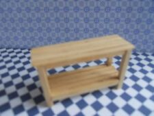 DOLLS HOUSE MINIATURE FURNITURE IN 1/24 SCALE POTTING BENCH/ WORK TABLE