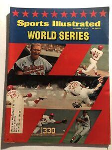 1970 Sports Illustrated World Series BALTIMORE ORIOLES vs CINCINNATI REDS Brooks