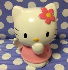 Vintage Sanrio Hello Kitty Angel Wings Ceramic Piggy Bank, Coin Bank 1997