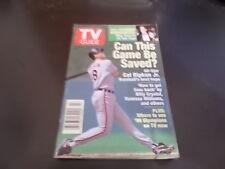 Cal Ripken Jr. - TV Guide Magazine 1995