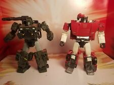 Transformers siege hound and sideswipe lot