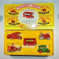 MATCHBOX SERIES LESNEY 40th Anniversary Collection 5X recreation models set