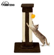 "21"" Cat Climb Holder Tower Cat Tree Coffee"
