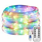 12m Usb Rope Tube String Fairy Lights Strip 100 Led Waterproof Outdoor Garden