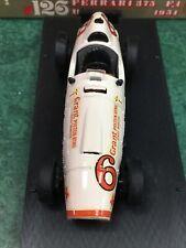 Brumm r126 Ferrari 375 F.1 HP380 1951 1:43 Scale (White)