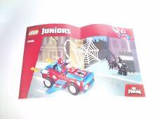LEGO notice manuel instruction set 10665 Spider-man