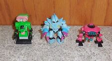 Zbots 3 Figure lot Micromachines Zbot GALOOB FIGURE LOT