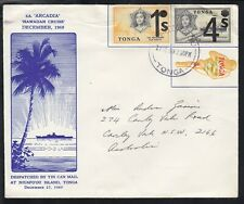 "Tonga 1969 Tin Can Mail, cruise ship ""Arcadia"" souvenir cover"