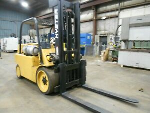 Hyster S150A, 15,000#, 15000# Heavy Duty, Cushion Tired Forklift, Power Shift