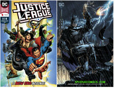 DC JUSTICE LEAGUE #1 REG VAR COVER SCOTT SNYDER JIM LEE JIM CHEUNG SET 2 (2018)