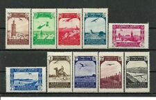 SPANISH MOROCCO 1938. Complete series 10 New stamps*. Air Mail         (7032)