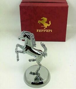 NEW Fabulous Exact Ferrari Mascot Representation Metal Model + Badge
