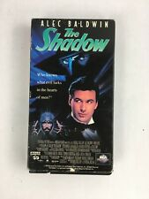 The Shadow Alec Baldwin VHS Tape Tested Closed Caption