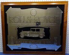 Wandspiegel Rolls-Royce - The Best Car in The World  - copyright relic design