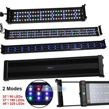 "20/37/46"" Aquarium Led Light Multi-Color Full Spec Plant Marine 90 180 225 Leds"