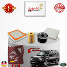 Kit Inspección Filtros + Aceite Tierra Rover Discovery IV 3.0 SDV6 188KWA 2011-