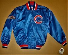 CHICAGO CUBS ROYAL BLUE WINDBREAKER JACKET - SIZE MEDIUM - (Inventory #2-0201)