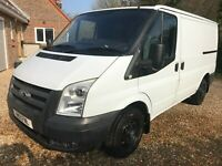 2011 FORD TRANSIT T260 FWD 115PS 2.2 TDCI WHITE DIESEL LOW ROOF