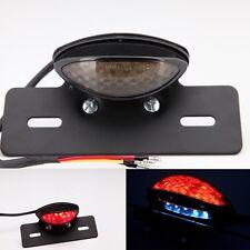 Motorcycle Rear Light License Plate Bracket LED Custom Tail Light FIT DUAL SPORT