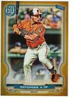 Anthony Santander 2020 Topps Gypsy Queen 5x7 Gold #146 /10 Orioles