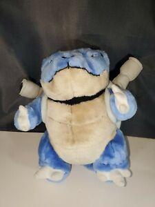 "Pokemon Blastoise Plush 1995 1996 1998  10"""