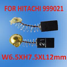Carbon Brushes For Hitachi 6.5X7.5X12mm 999021 Grinder Drill Sander Planer OZ