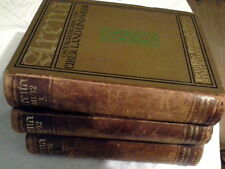 Arena. Oktav-Ausgabe von Über Land und Meer. Jahrgang 1911/12. 3 Bände komplett