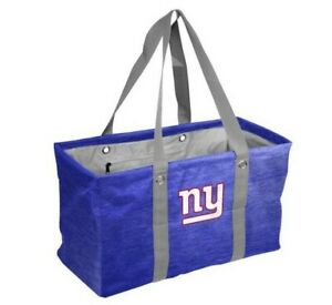 NY Giants Football NFL Licensed Picnic Caddy Tote Bag Tailgating Party NIP