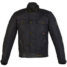 SPADA UNION DRY WAX WATERPROOF TEXTILE ARMOURED CASUAL LOOK MOTORCYCLE JACKET