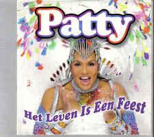 Patty Brard-Het Leven Is Een Feest cd single