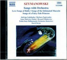 CD NEUF - SZYMANOWSKI - Songs With Orchestra
