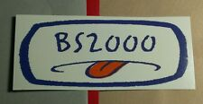 BS2000 BS 2000 MOUTH TONGUE OUT MUSIC RARE STICKER