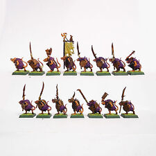 WARHAMMER FANTASY ARMY SKAVEN  CLAN RATS  PAINTED PLASTIC