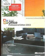Microsoft Office 2003 Professional INGLESE NUOVO fattura IVA