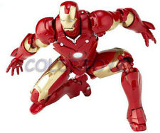 Revoltech 036 Sci-Fi Iron Man Mark III MK3 Action Figure Marvel Kaiyodo 36