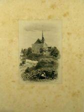 Lithographie originale de Célestin Nanteuil, Vendanges