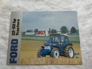Ford 10 series 32 - 52 hp tractors brochure