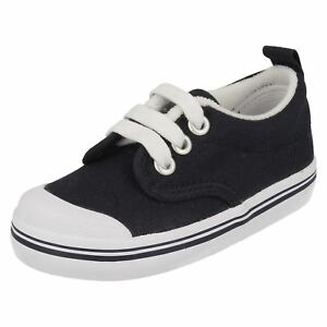 Boy's Scooter Navy Textile Canvas Shoes by Ked's SALE NOW